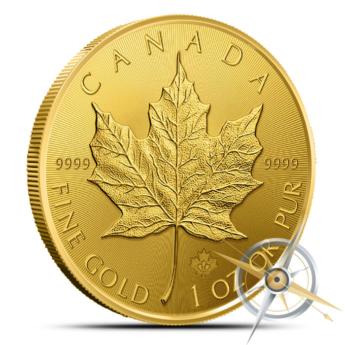 2015 1 oz Canadian Gold Maple