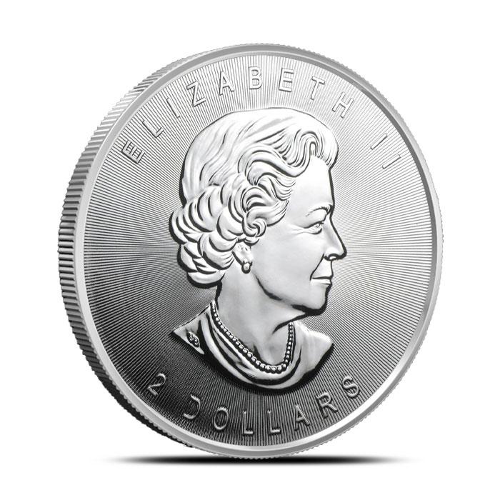 2015 Canada 3/4 oz Silver Grey Wolf