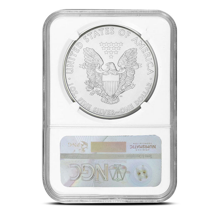 2015 American Silver Eagle | NGC MS69