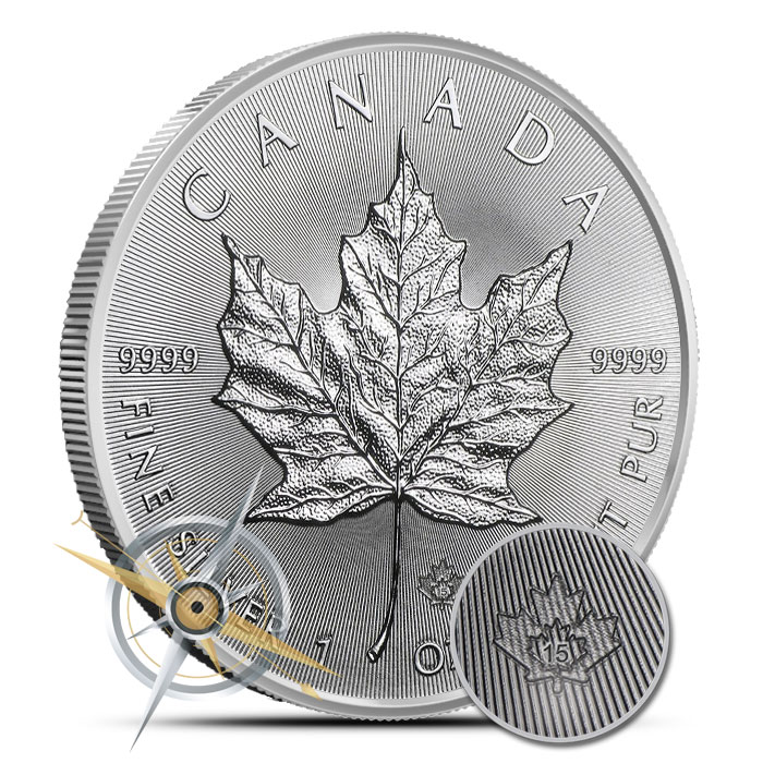 25 Count 2015 Canadian Silver Maple