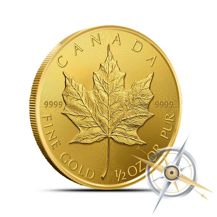 2015 1/2 oz Canadian Gold Maple