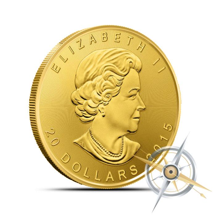 2015 Half oz Canadian Gold Maple Leaf