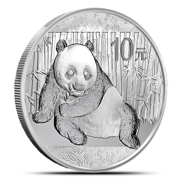 2015 Chinese 1 oz Silver Panda Coin