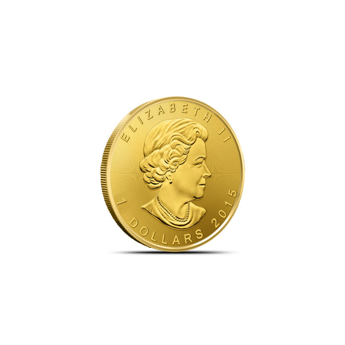2015 Twentieth Ounce Canadian Gold Maple Leaf