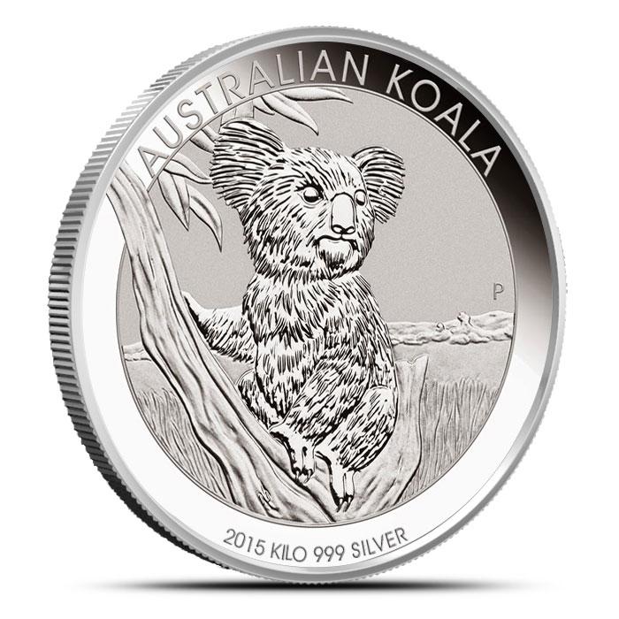 2015 1 Kilo Silver Koala