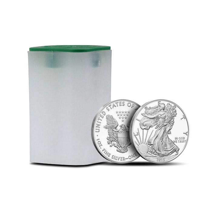 20 Count 2015 1 oz American Silver Eagle