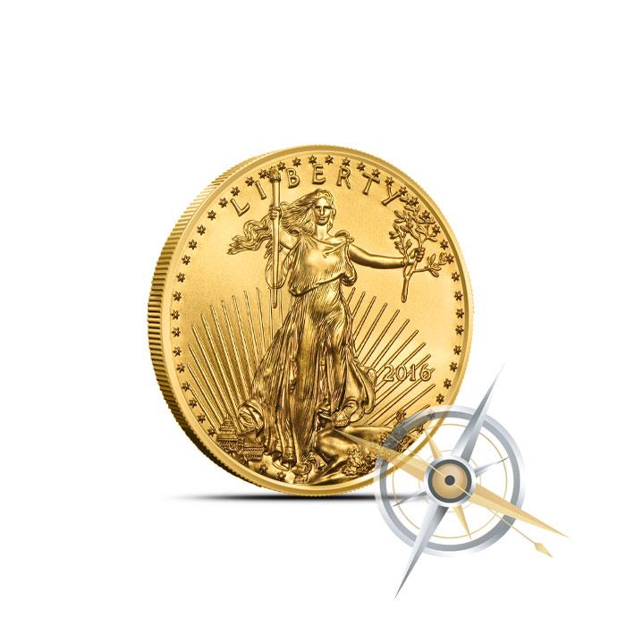 2016 1/10 oz American Gold Eagle