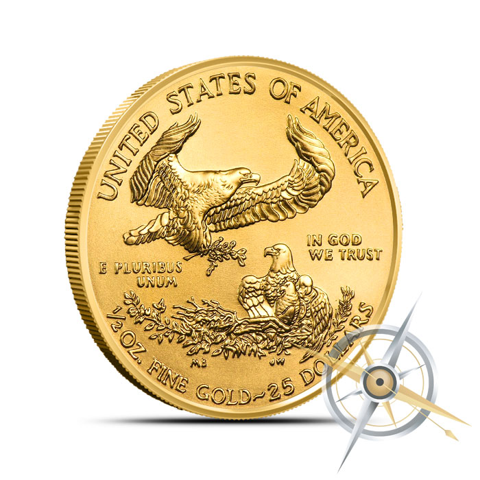2016 half ounce American Gold Eagle