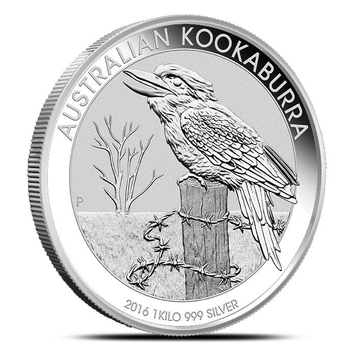 2016 1 kilo Silver Kookaburra | Perth Mint