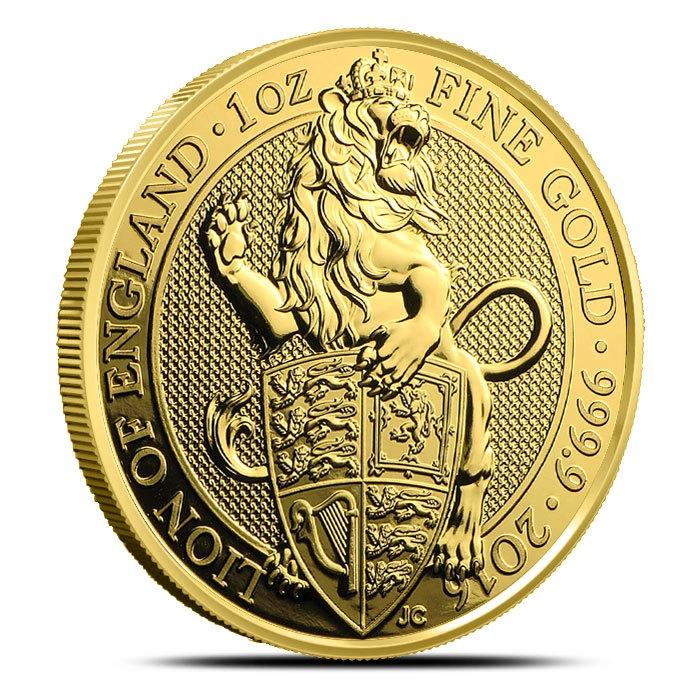 2016 1 oz British Gold Queen