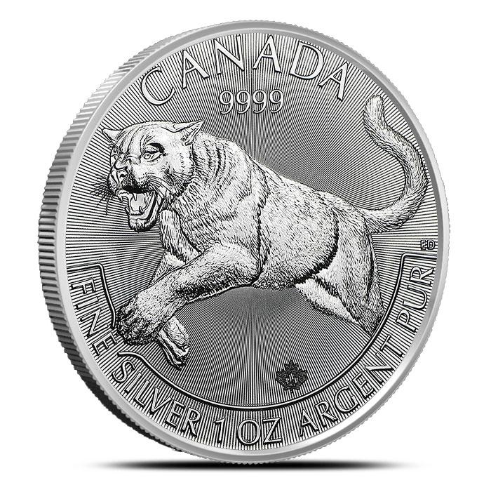 2016 1 oz Canadian Silver Cougar | Predator Series
