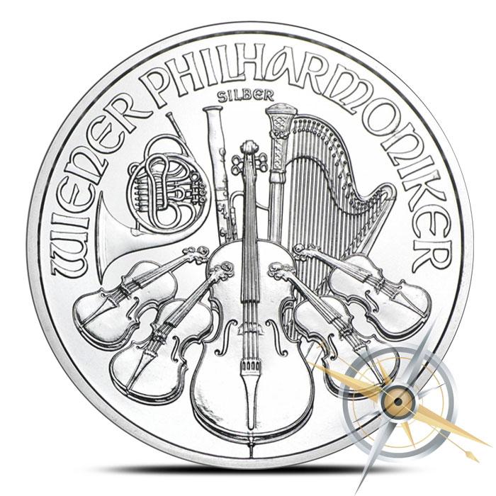 2016 Austrian Silver Philharmonic | 500 1 oz Coins