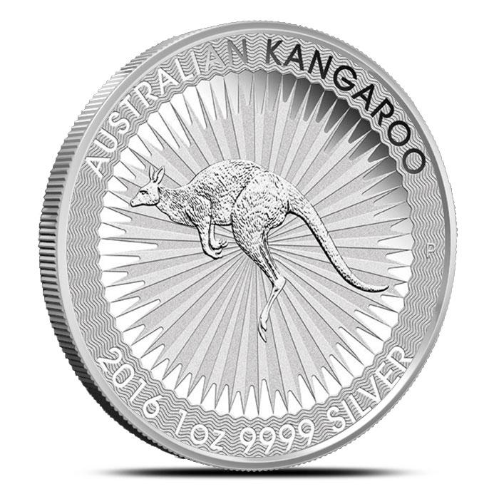 2016 1 oz Australian Silver Kangaroo
