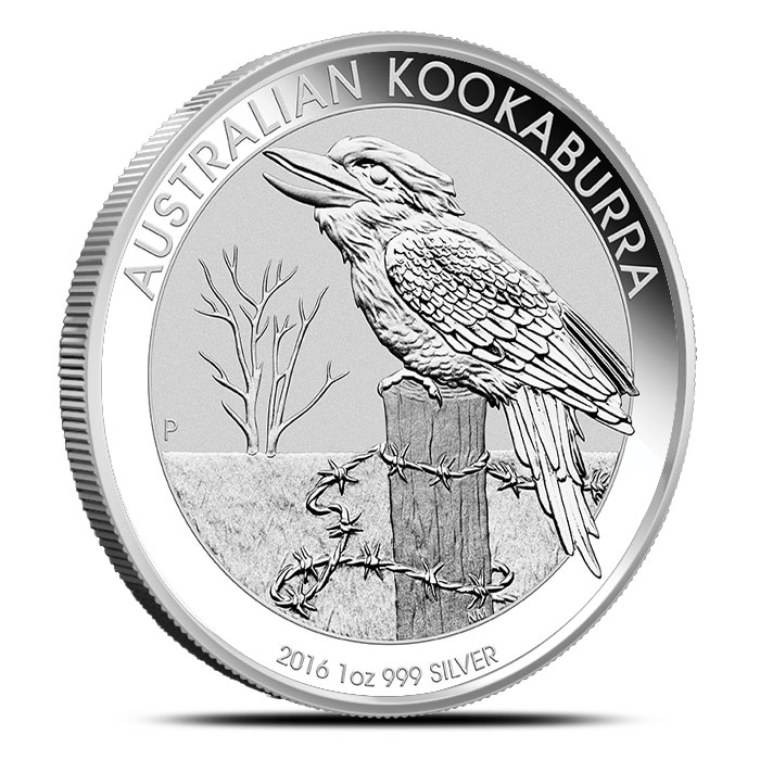 2016 1 oz Silver Kookaburra | Perth Mint