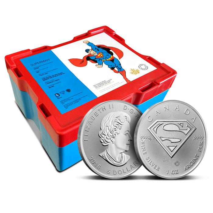RCM Superman S-Shield Coin | Monster Box