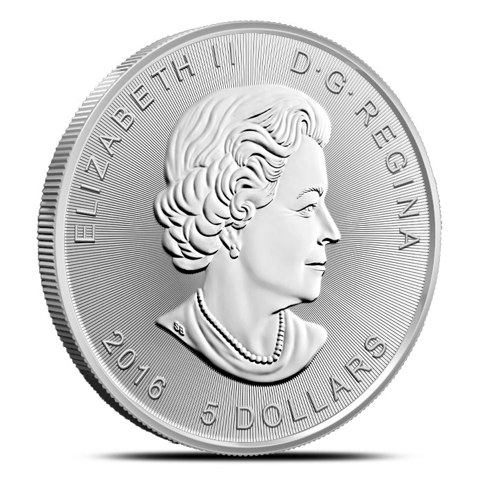 Royal canadian Mint 1 oz Silver Queen Effigy