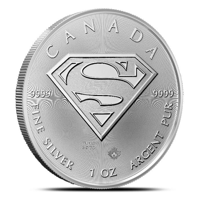 RCM Superman S-Shield Coin