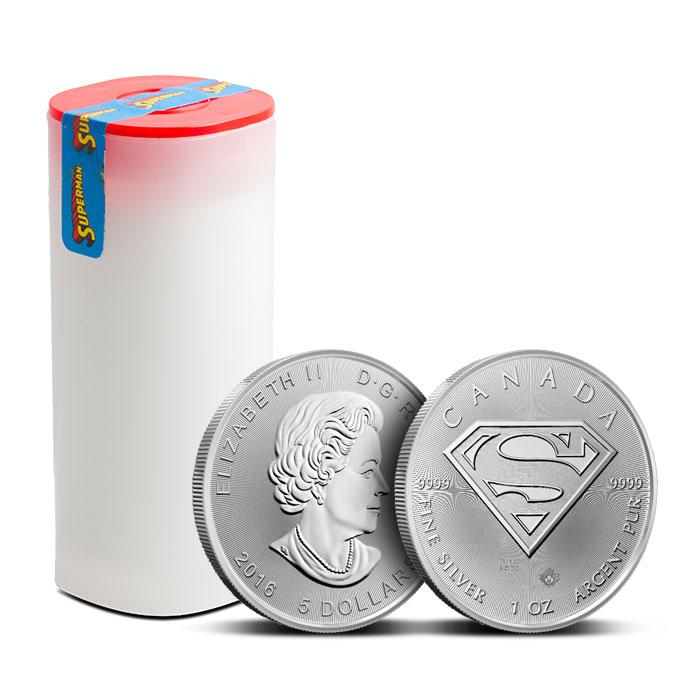 Canadian 1 oz Silver Superman Roll