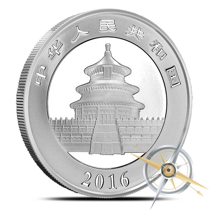 2016 30g Chinese Silver Panda | 450 Coins
