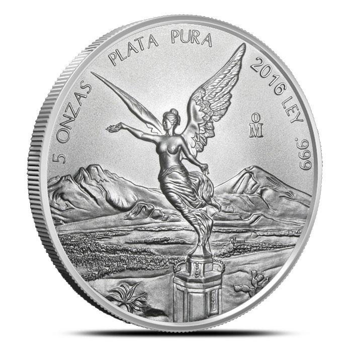 2016 5 oz Mexican Silver Libertad
