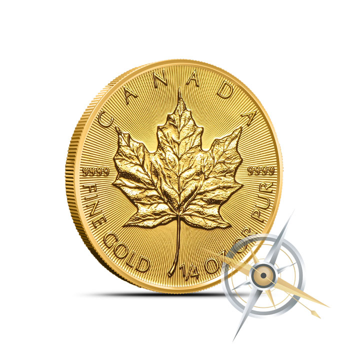 2016 1/4 oz Canadian Gold Maple Leaf