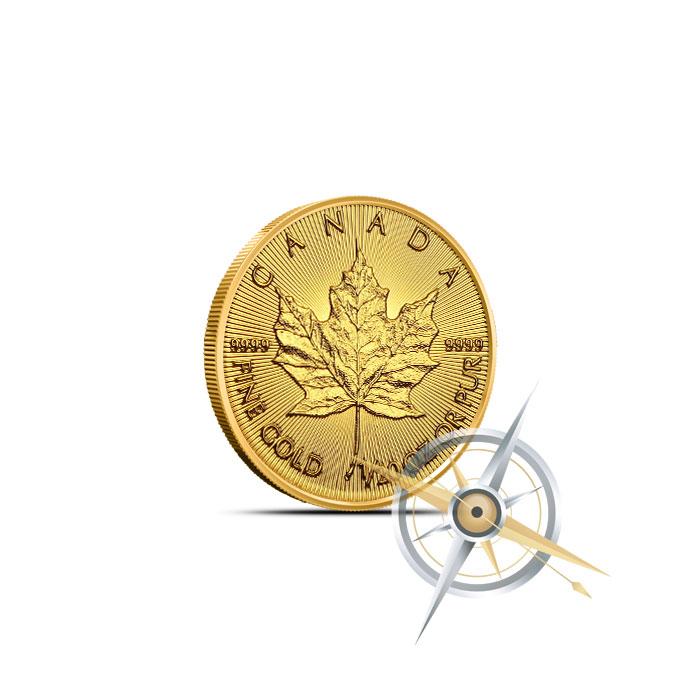 2016 1/20 oz Canadian Gold Maple Leaf
