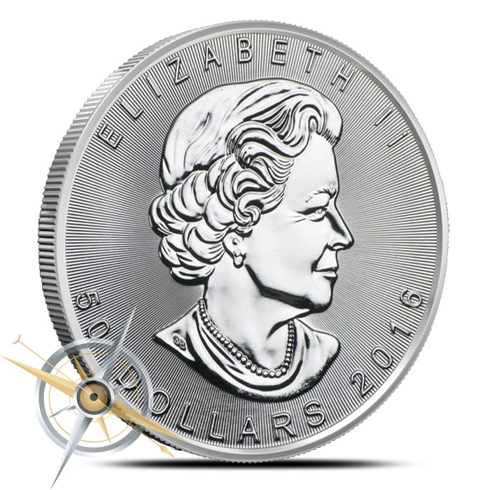 2016 one ounce Canadian Platinum Maple Leaf