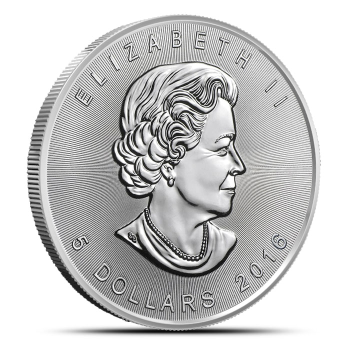 2016 one ounce Canadian Silver Maple | 25 Count