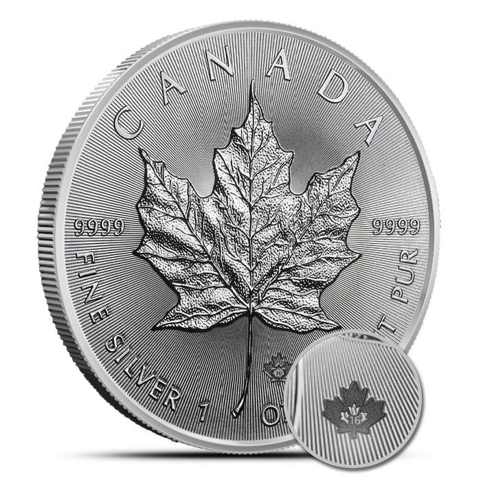2016 1 oz Canadian Silver Maple | 25 Count