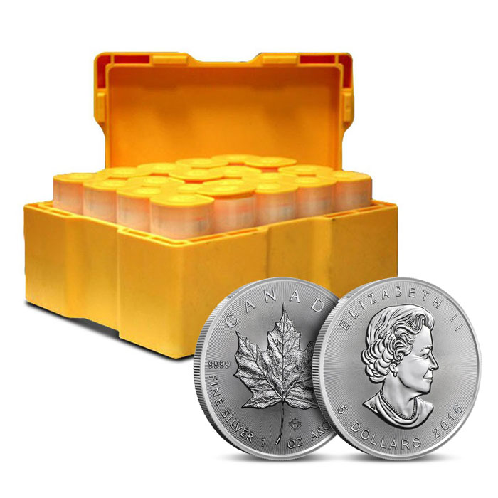 2016 Canadian Silver Maple Leaf | Monster Box