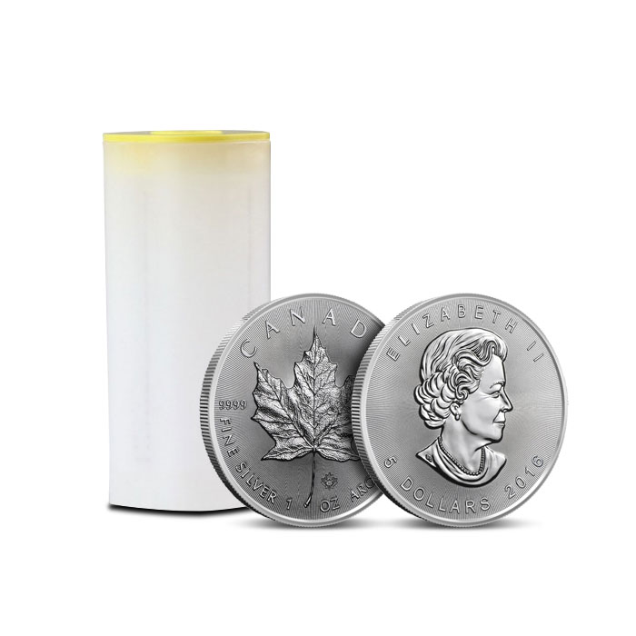 2016 Canadian Silver Maple Leaf | 25 Count
