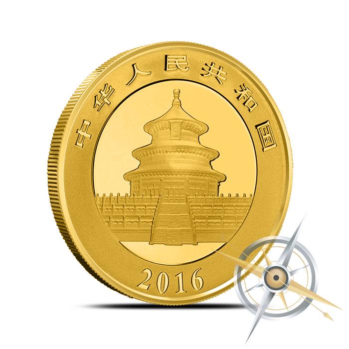 2016 Chinese Gold Panda   15 gram