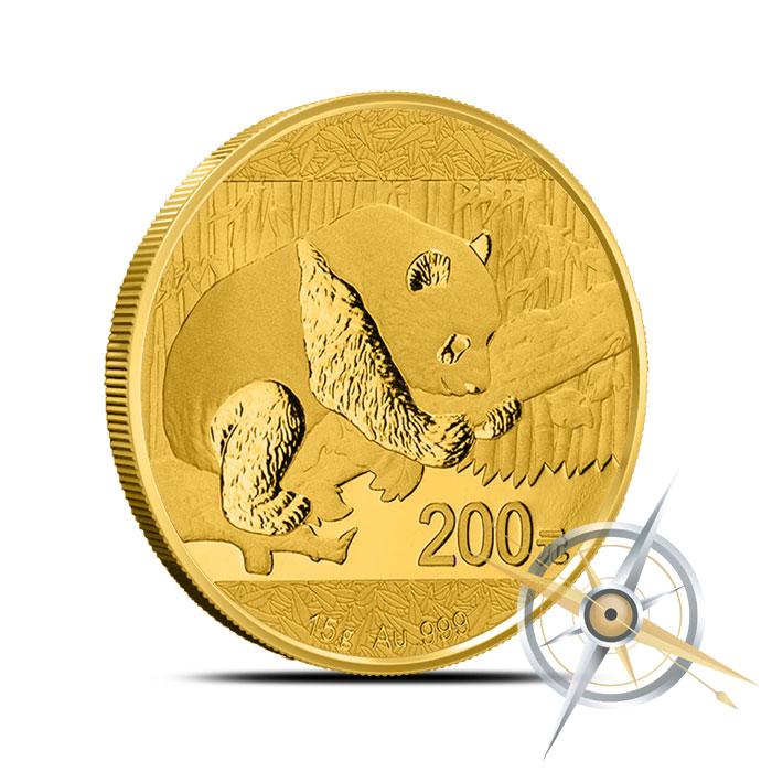 2016 15 gram Chinese Gold Panda