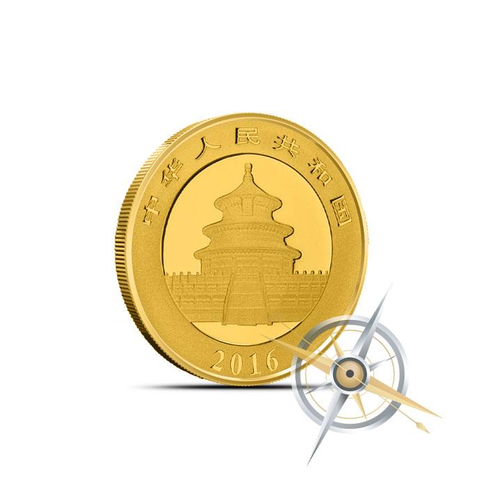 2016 Chinese Gold Panda   3 gram