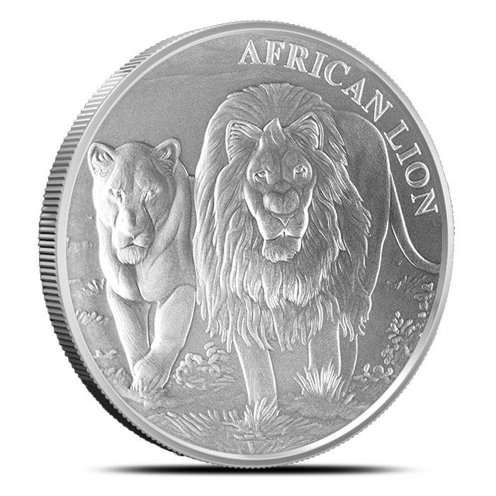 2016 1 oz Congo Silver Lion