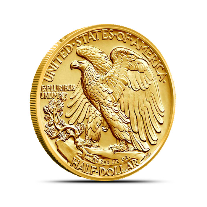 Walking Liberty 2016 Centennial Gold