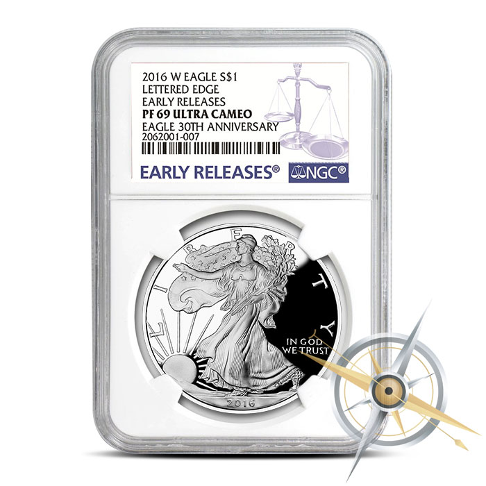 PF69 NGC 2016 Proof American Silver Eagle
