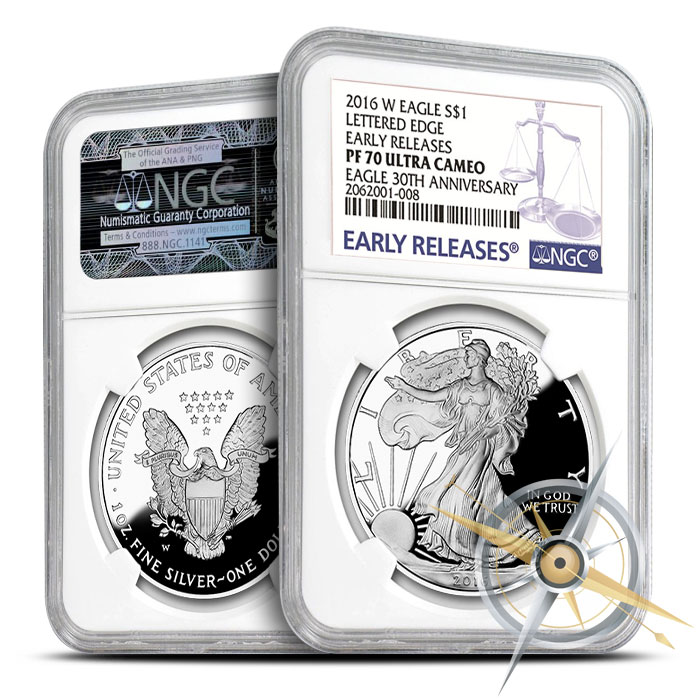2016 Proof American Silver Eagle | Early Release PF70 NGC