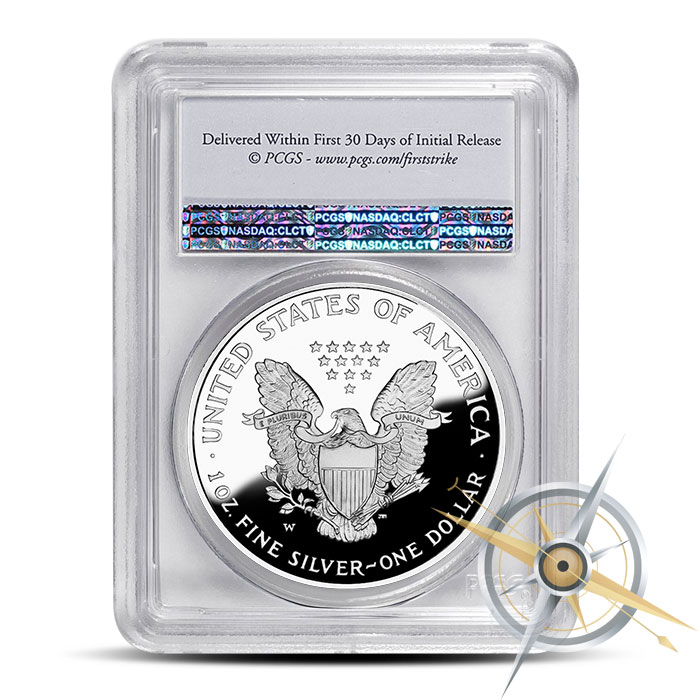 First Strike 2016 Proof Silver Eagle   PF70 PCGS