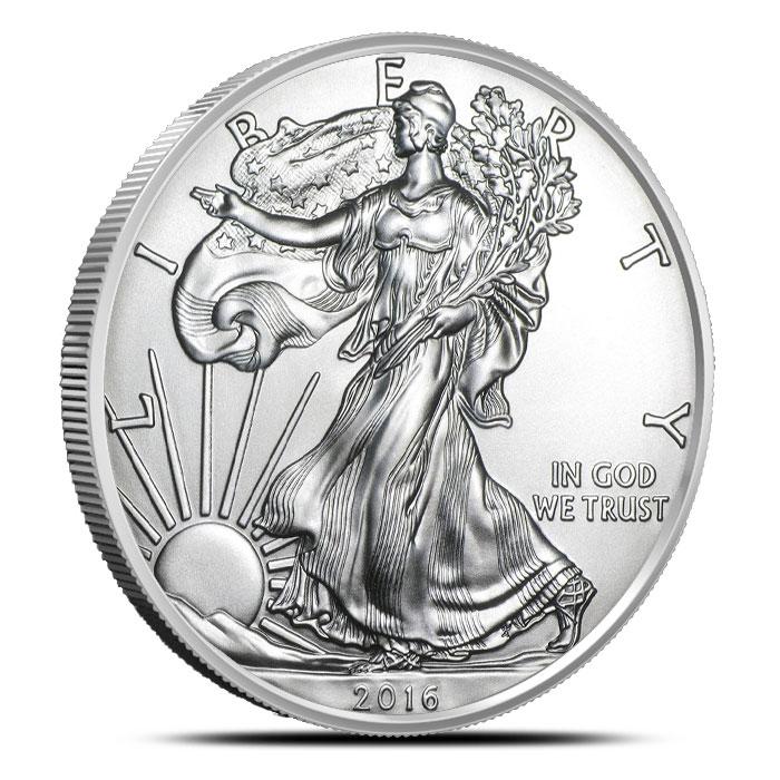 2016 1 oz American Silver Eagle | 500 Count