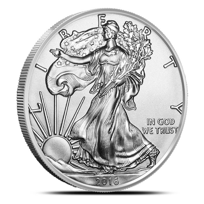 2016 Burnished American Silver Eagle