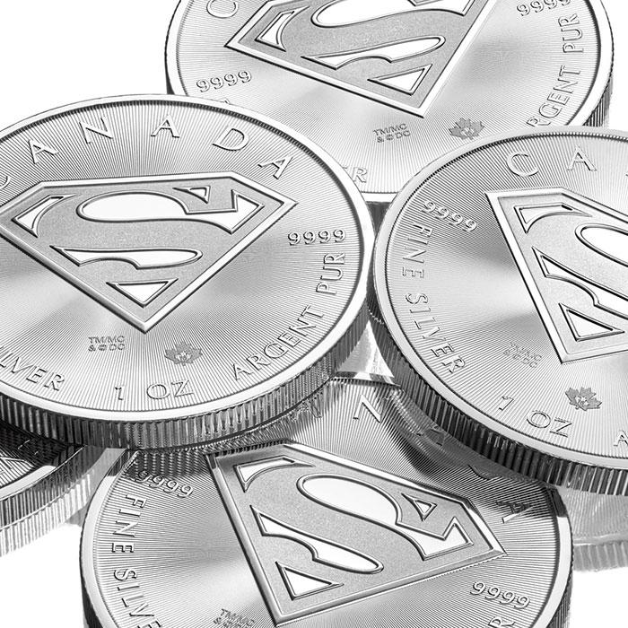 RCM Superman Silver S-Shield Coin