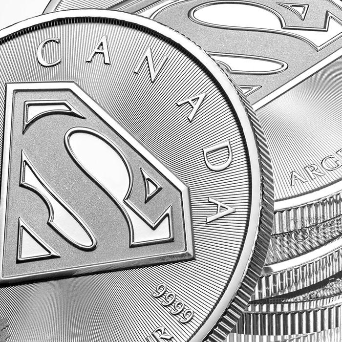 2016 Superman $5 Silver S-Shield