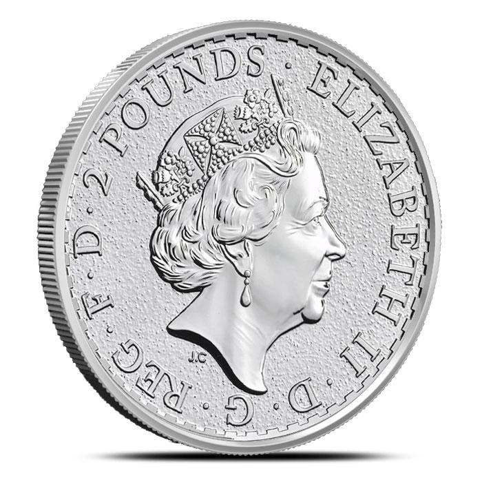 2016 one ounce Silver Britannia
