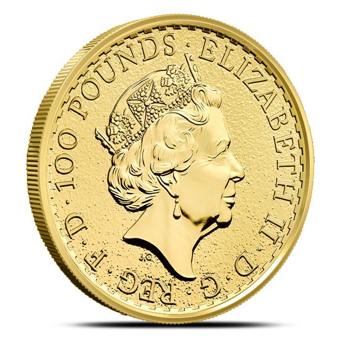 2017 1 oz Gold Britannia