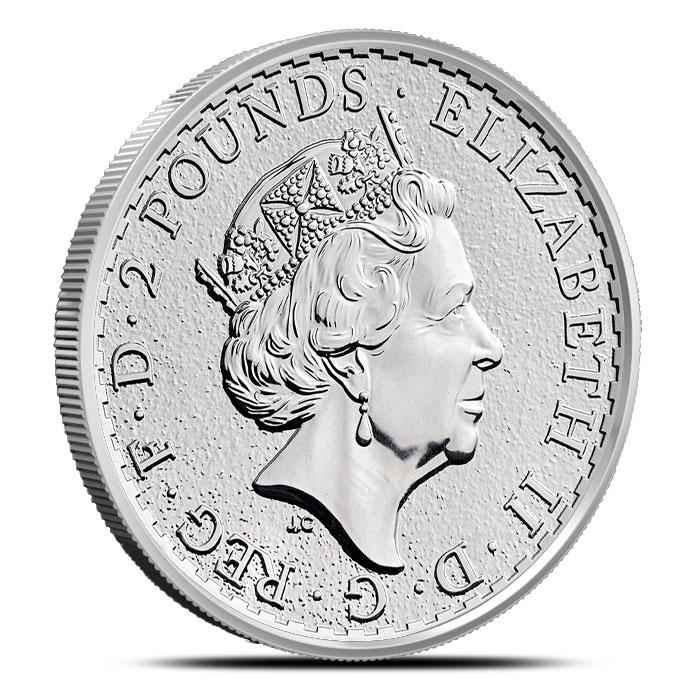 2017 1 oz Silver Britannia