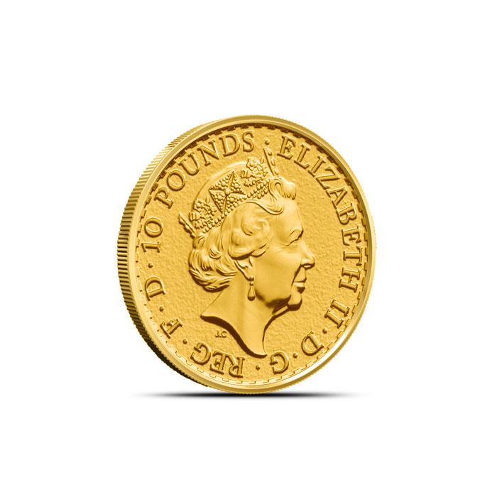 2017 1/10 oz Gold Britannia