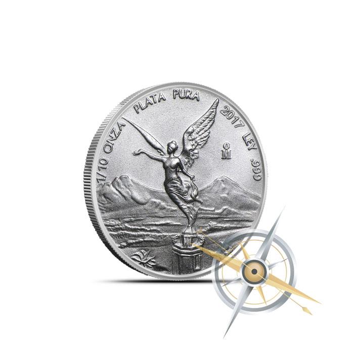 2017 1/10 oz Silver Libertad