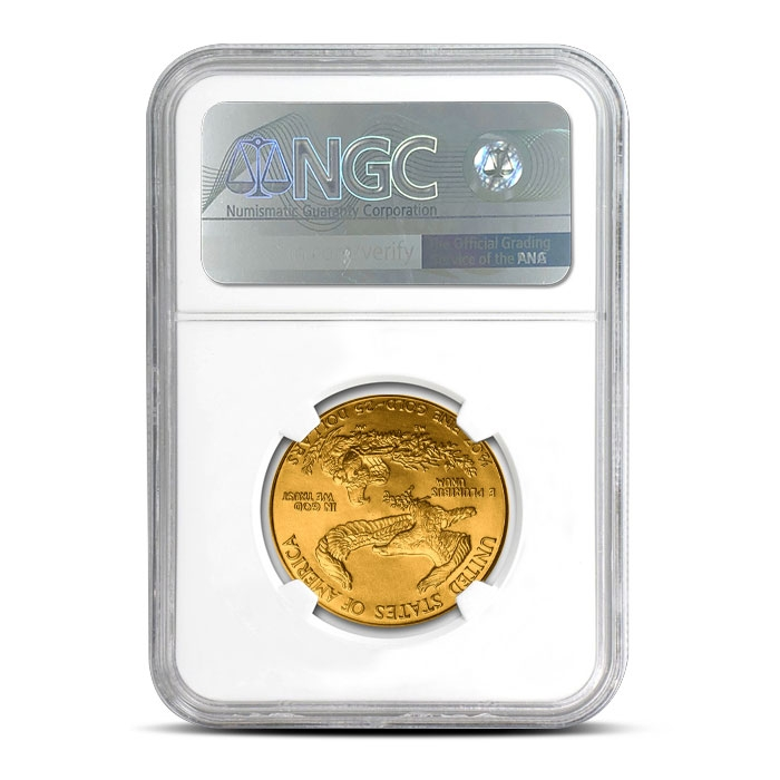 2017 1/2 oz Gold American Eagle | NGC MS69
