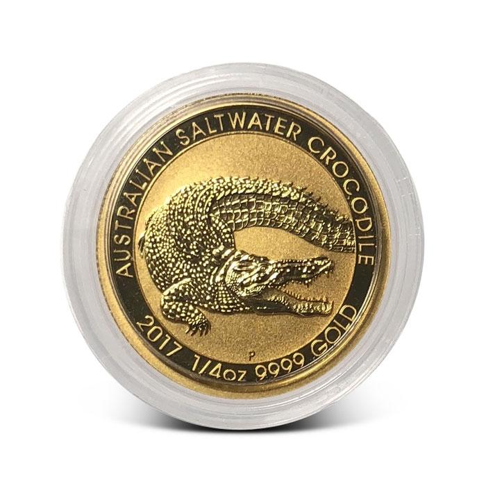 2017 Australian 1/4 oz Gold Saltwater Crocodile